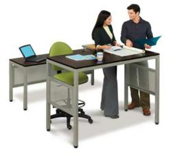 National Business Furniture Adds Standing Height Desks To