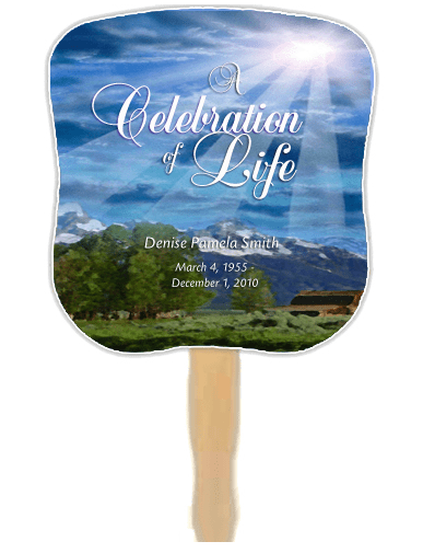 Funeral Templates Industry Leader Launches Memorial Fan Keepsakes