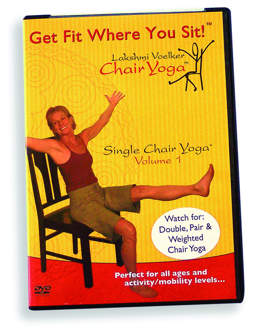 Lakshmi Voelker will Conduct a Chair Yoga Teacher Training