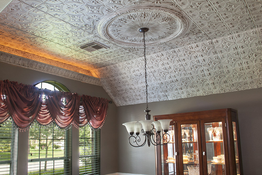 Tin Ceilings from The Tinman Go Hollywood