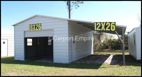 Carport Empire Announces The Sale Of Customizable Carports