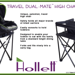 Baby Camping High Chair Hon Volt Drafting Hollett Inc Makes Traveling With Babies And Toddlers Easier Travel Dual Mate
