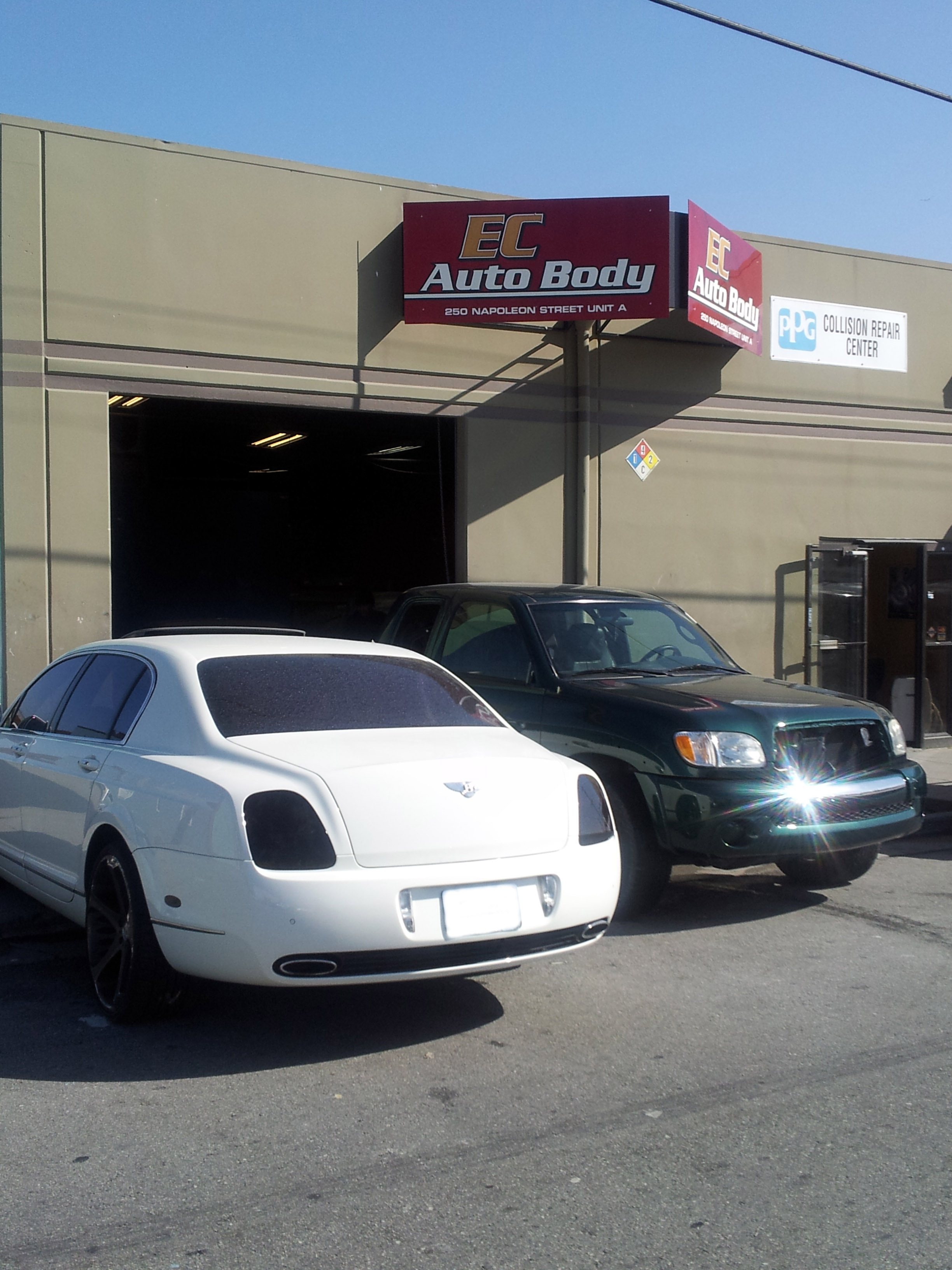 Ec Auto Body Automotive Repair In San Francisco Is Announcing End Of The Summer Special Car