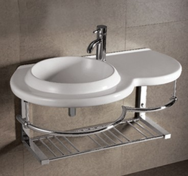 Top Mount Bathroom Sink