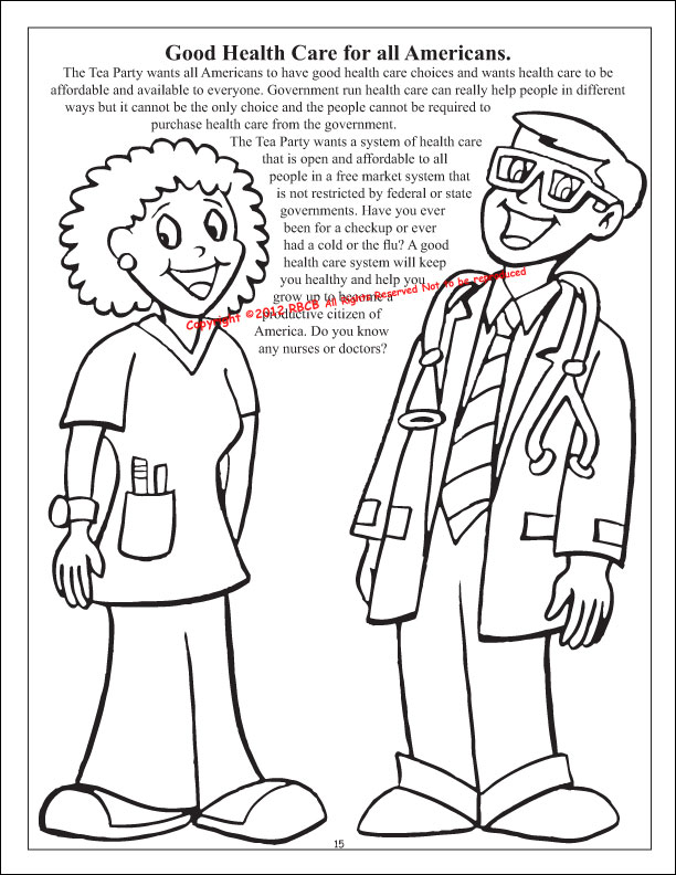 10,000 Free Tea Party Coloring Book for Kids Donated by a
