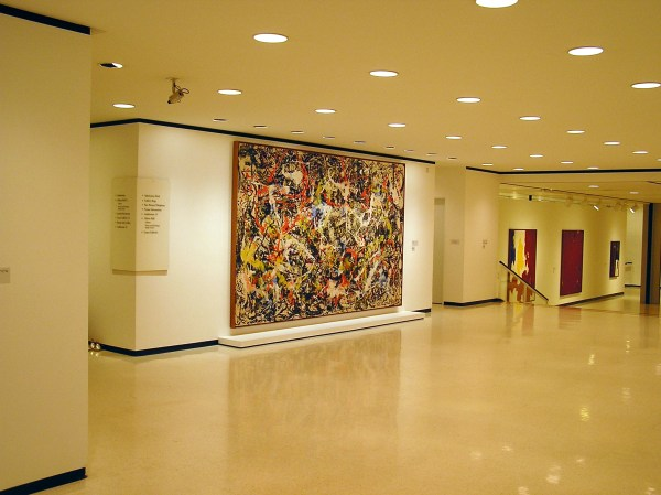 Tailored Lighting Donates Albright-knox Art Jackson Pollack Masterpiece