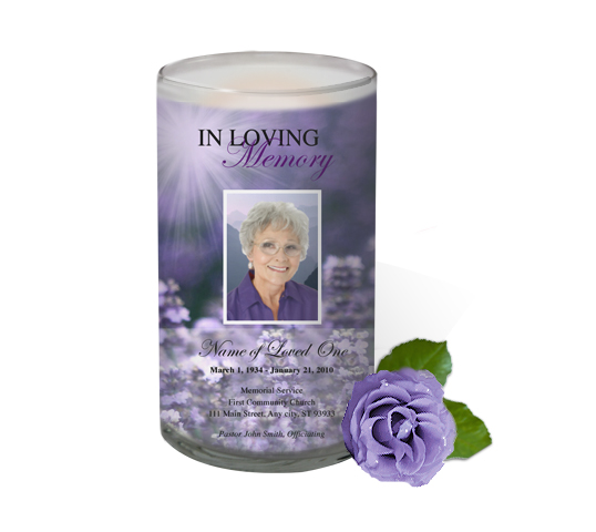 Funeral Template And Products Superstore Adds Photo Memorial Candles To Product Line