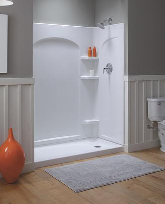 A Guide to Shower Stalls and Shower Walls Quick Shower Solutions  is introduced by HomeThangs