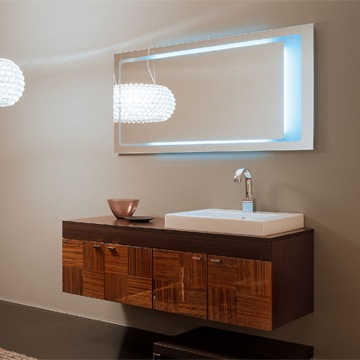 Backlit Mirrors for a Modern Bathroom are Introduced by HomeThangscom  Home Improvement Super