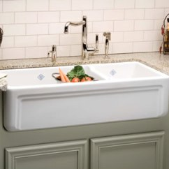 Kohler Kitchen Sink Window Curtain Panels A Wide Selection Of Trendy Traditional Fireclay ...