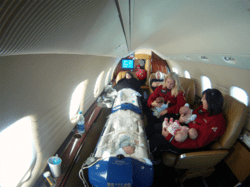 Infant Quintuplets Fly First Class with Angel MedFlight