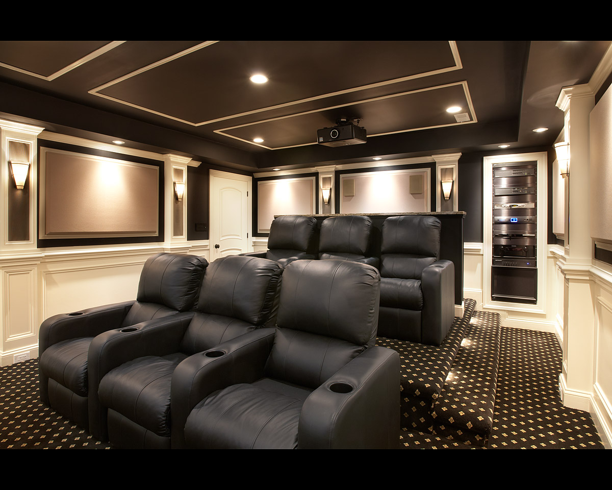 theater chairs home entertainment lazyboy office chair encore custom audio video wins electronic lifestyle award