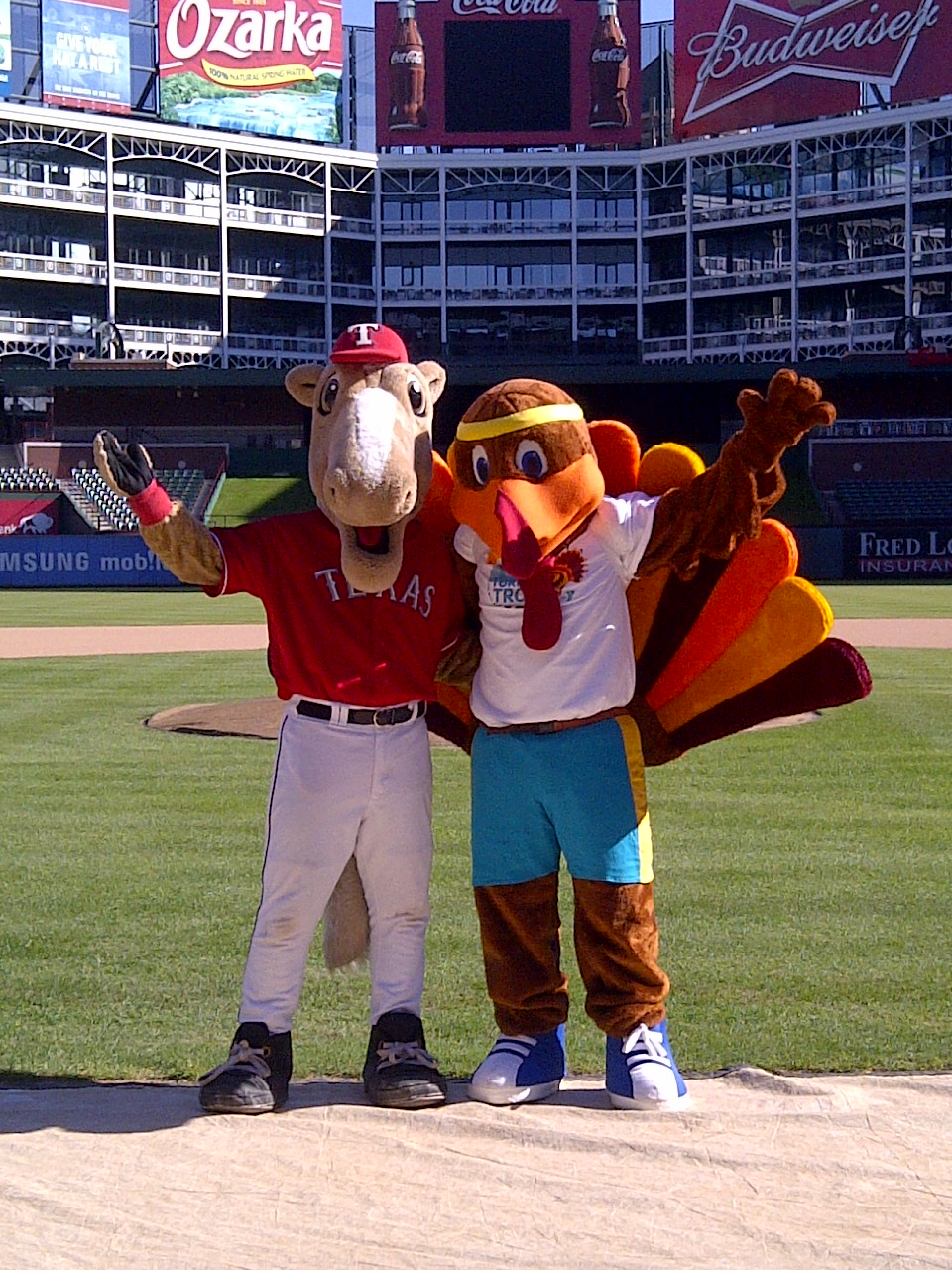 Dallas YMCA And Capital One Bank Introduce New Mascot
