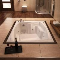 A Guide to In Floor Tubs for a Dream Spa Style Bathroom is ...