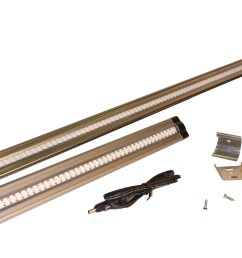 the new dekor 24 led under cabinet light bar is twice as long as our original led light bar  [ 4000 x 2672 Pixel ]