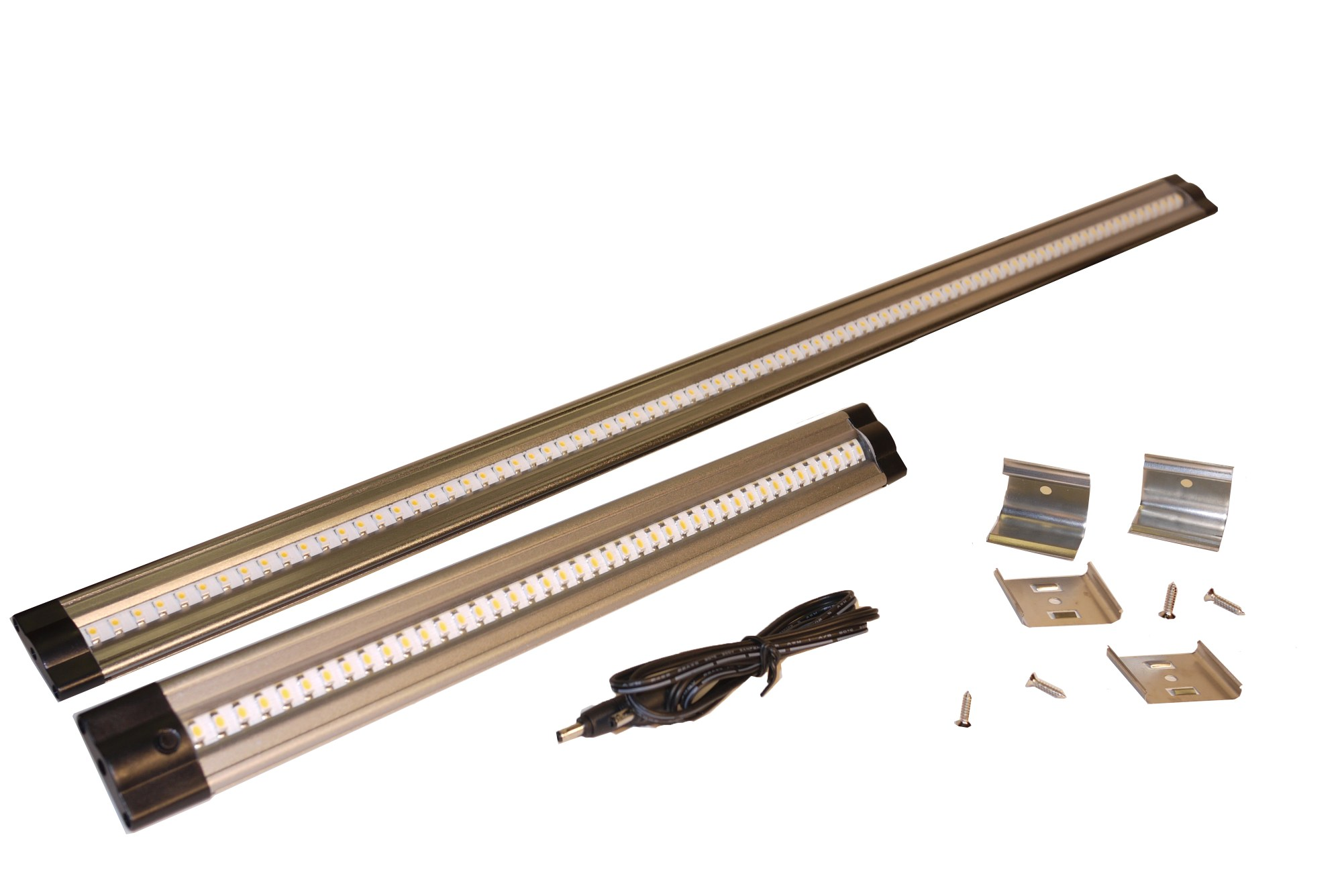 hight resolution of the new dekor 24 led under cabinet light bar is twice as long as our original led light bar