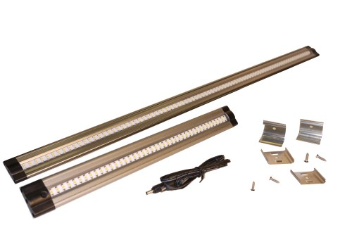 small resolution of the new dekor 24 led under cabinet light bar is twice as long as our original led light bar