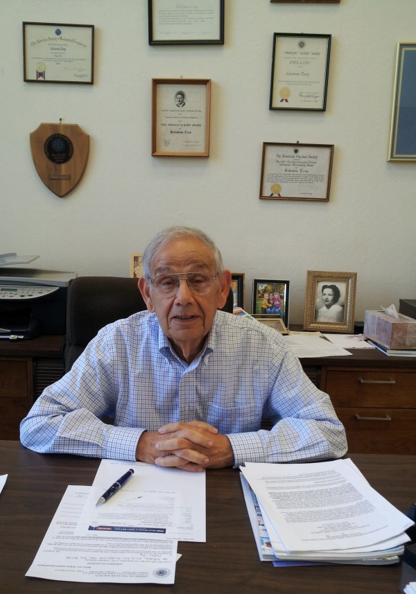 American Nuclear Society Honors Salomon Levy Phd With