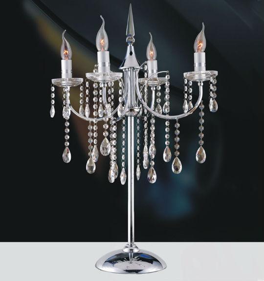 Lillian K9 Crystal Chandelier Table Lamp At Theinteriorgallery
