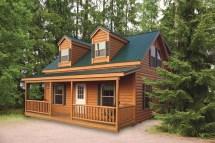 Wood Cabin Modular Homes