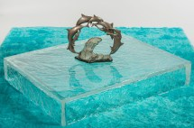 Furniture Project Featuring -cast Ice Acrylic