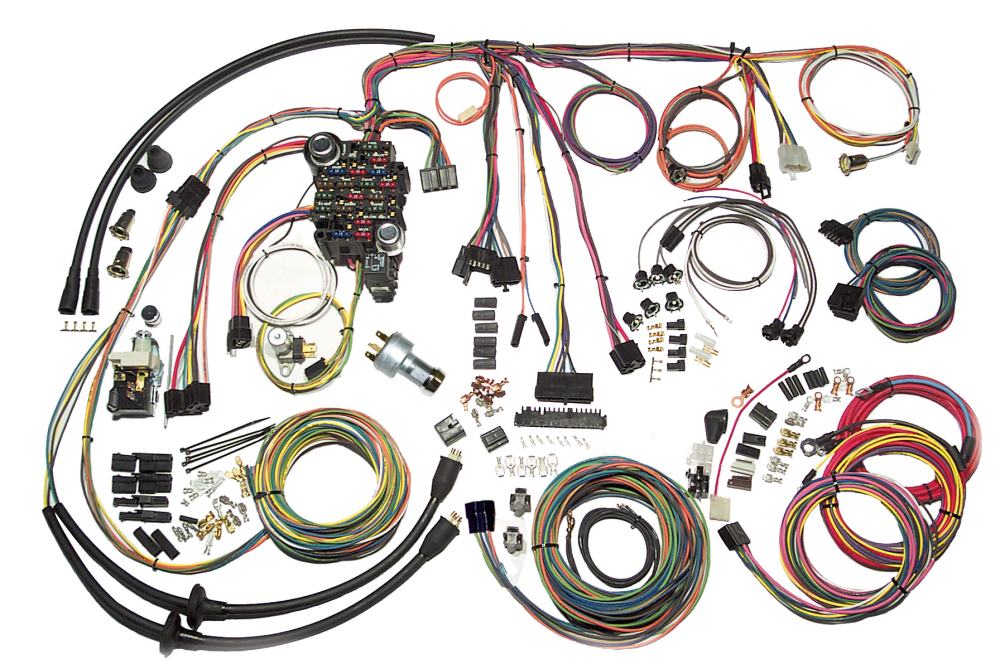 medium resolution of american autowire classic series harness for 1957 chevy