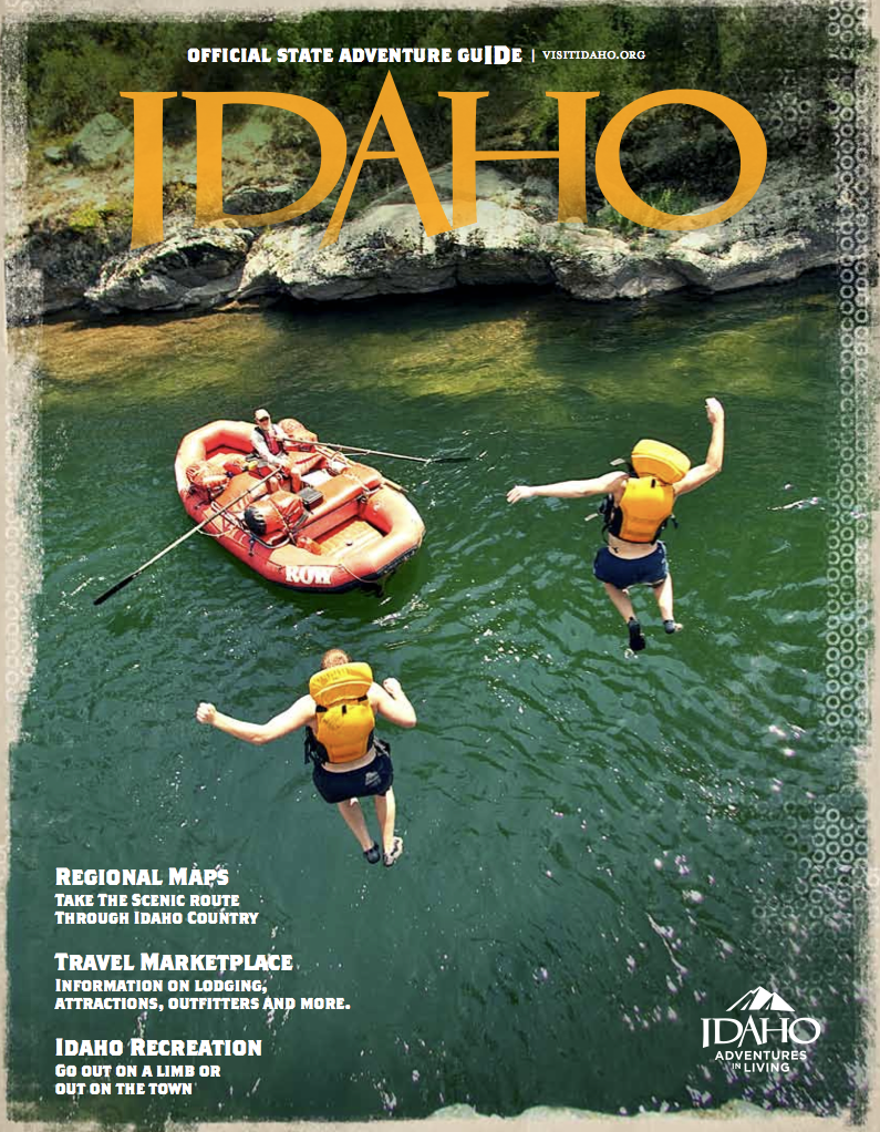 Idaho Division of Tourism Releases 2013 Travel Guide  Cover Features Marble Creek on the Middle