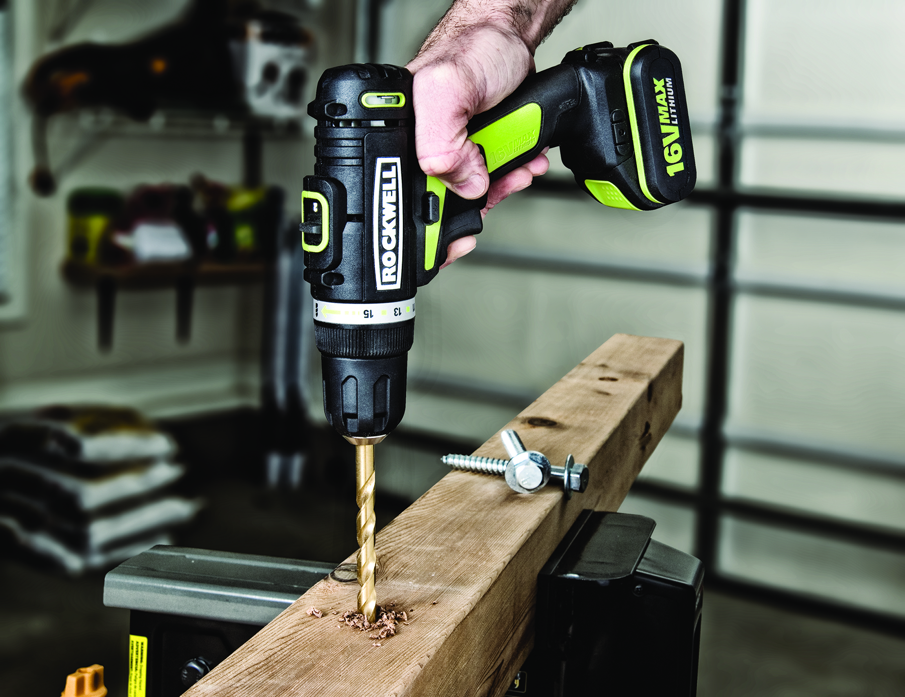 Rockwell S New 16v Drill Driver And Impact Driver Combine Top Performance And Batteries For Life