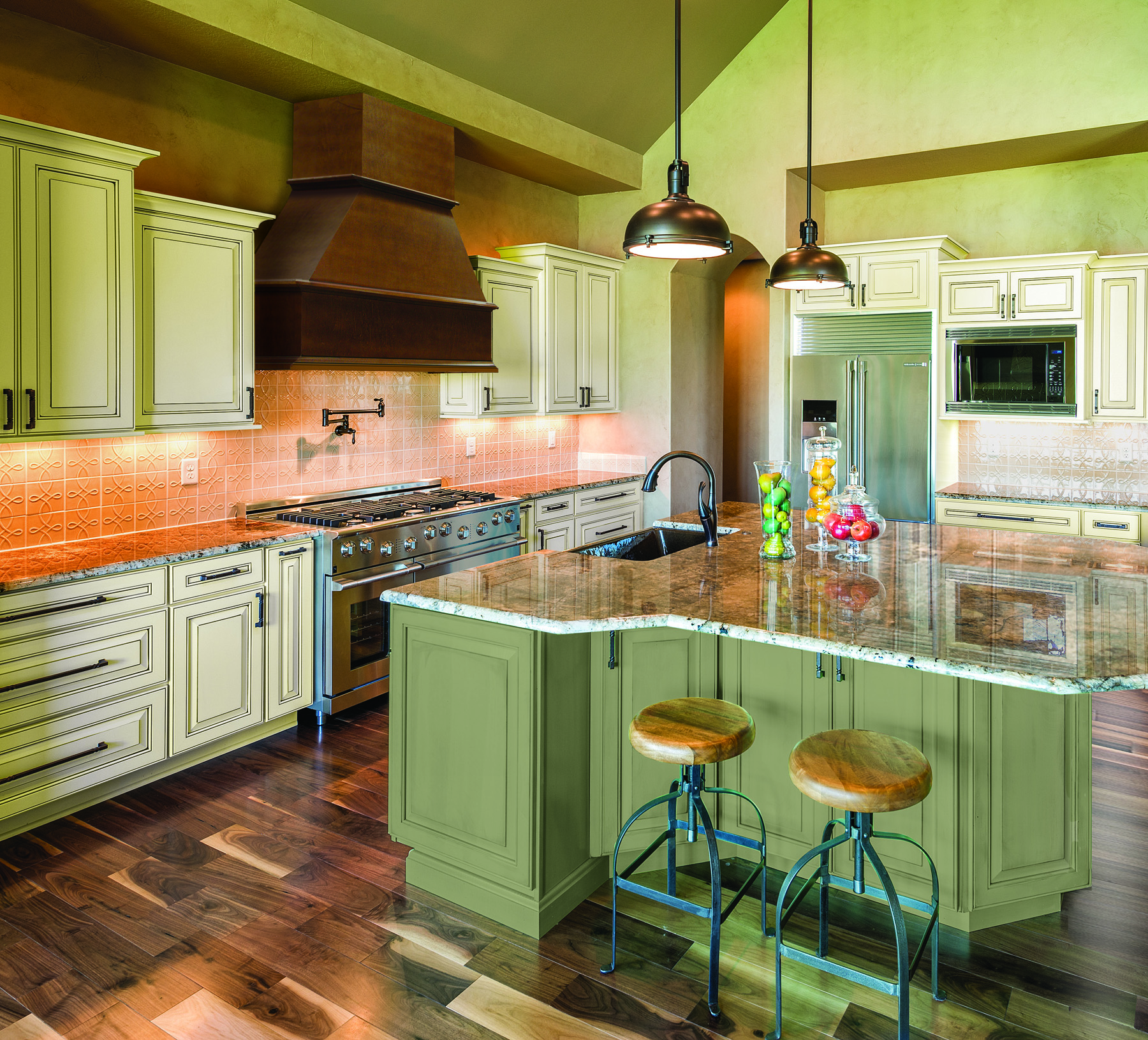 New Paint Colors Bring HighFashion Home to Kitchen