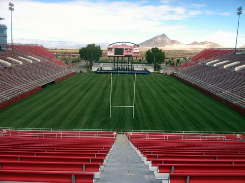 PTl Golf Inc Transforms Sam Boyd Stadium for Rugby Fans