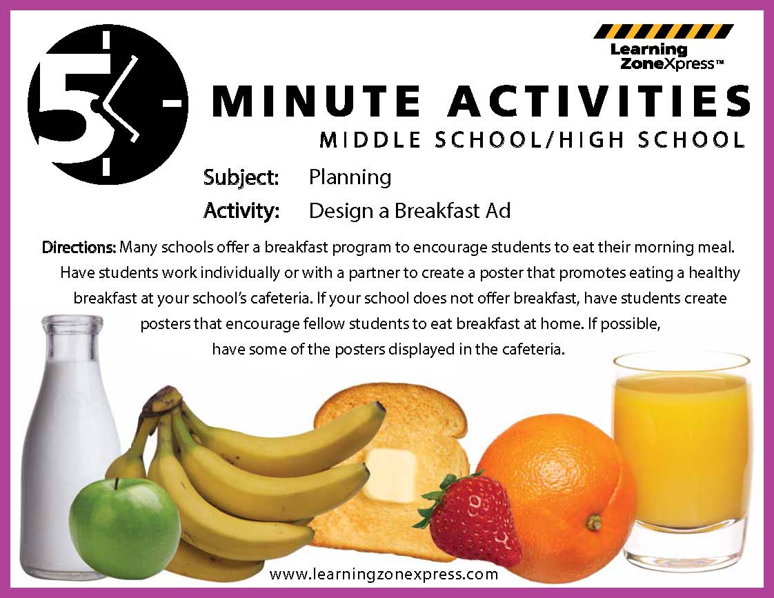 Celebrate National Nutrition Month And School Breakfast