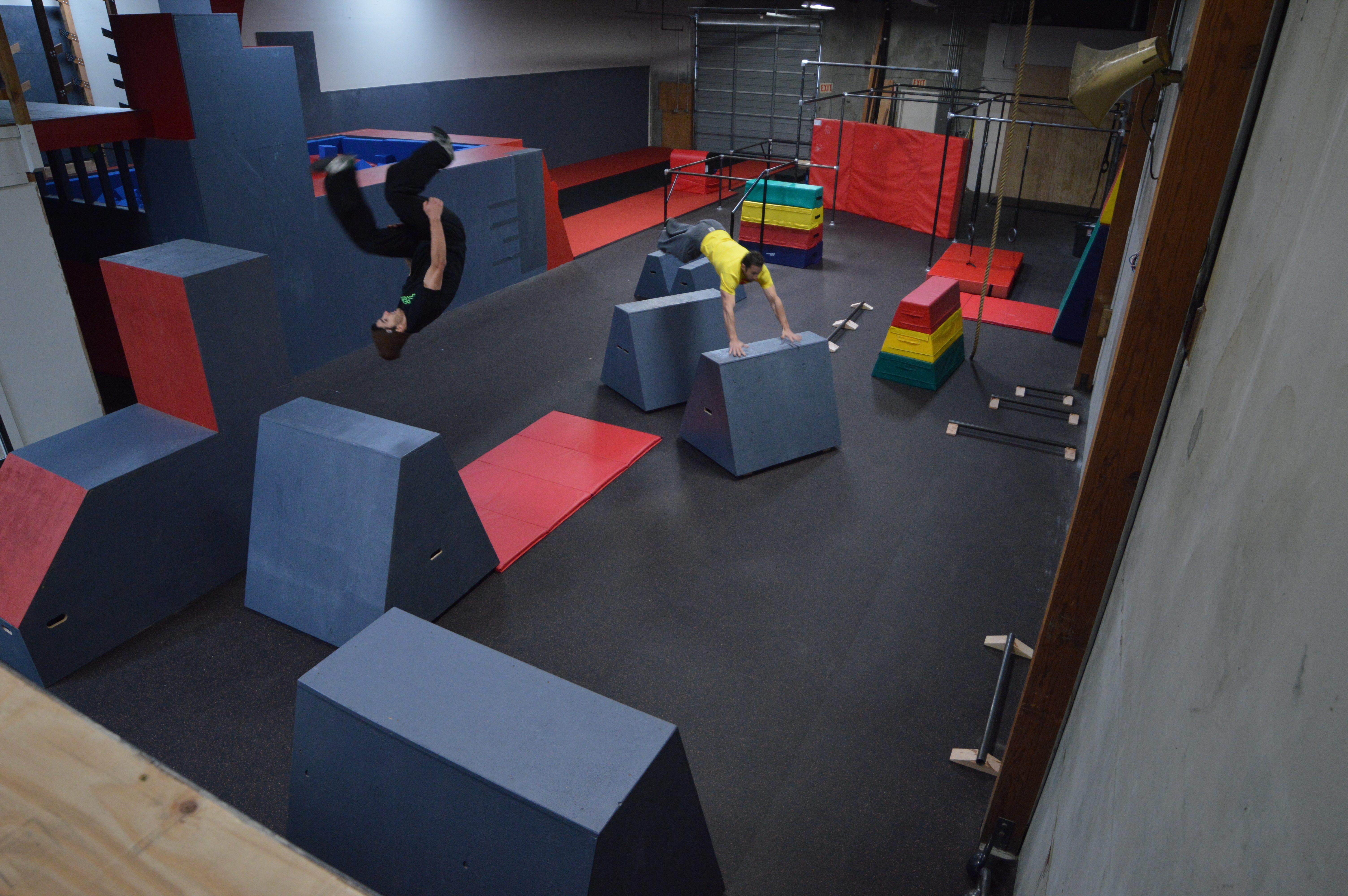 Bay Area Parkour Fitness Center Apex Movement Celebrates
