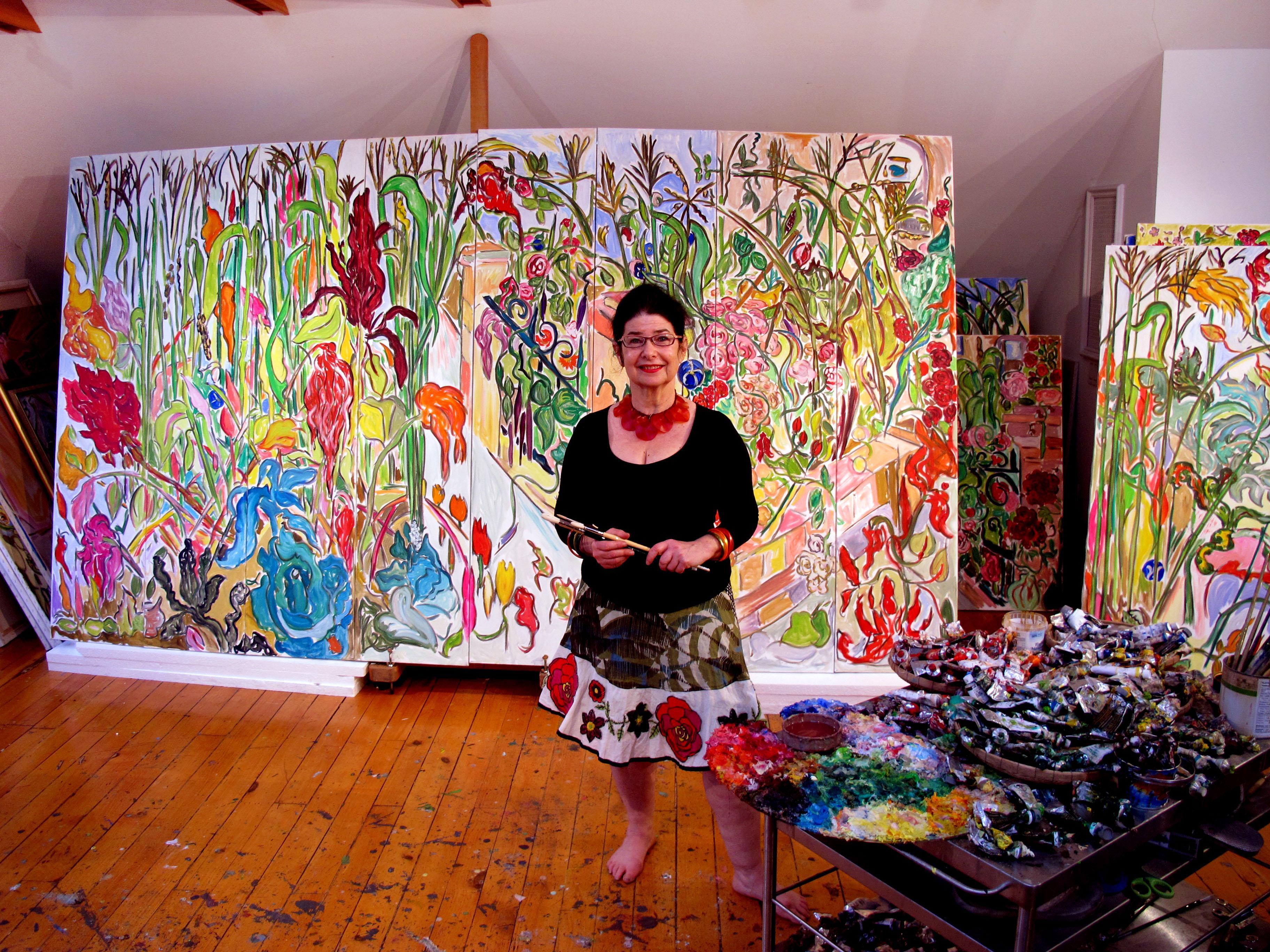 Inter Disciplinary Artist Vivian Reiss Is Showing Her