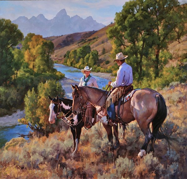 Cowboy Artist Jason Rich Named 2013 Jackson Hole Fall Arts