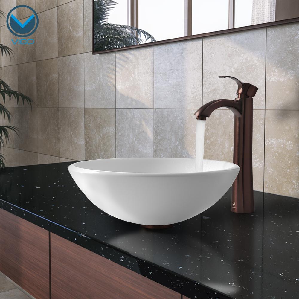 Vigo Industries Announces the New Phoenix Stone Glass Vessel Bathroom Sink