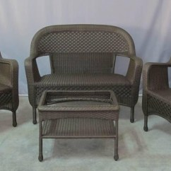 Patio Chair Cushions Big Lots Folding Kayak Outdoor Wicker Furniture Seller Announces Savings On Clearance Sets And ...