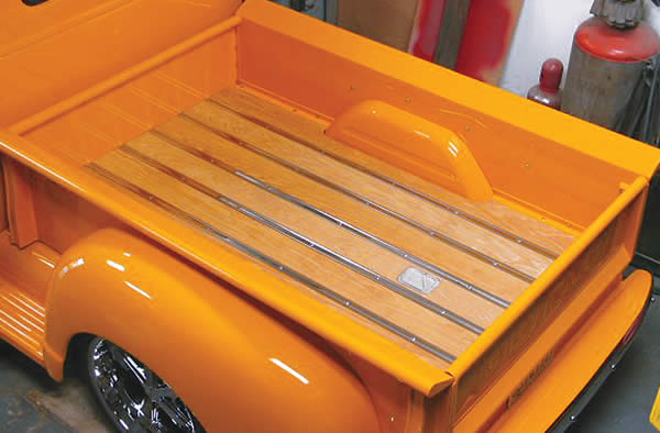 Summit Racing Equipment Offers New Bed Wood and Parts Wood Truck Floor Kits and Accessories