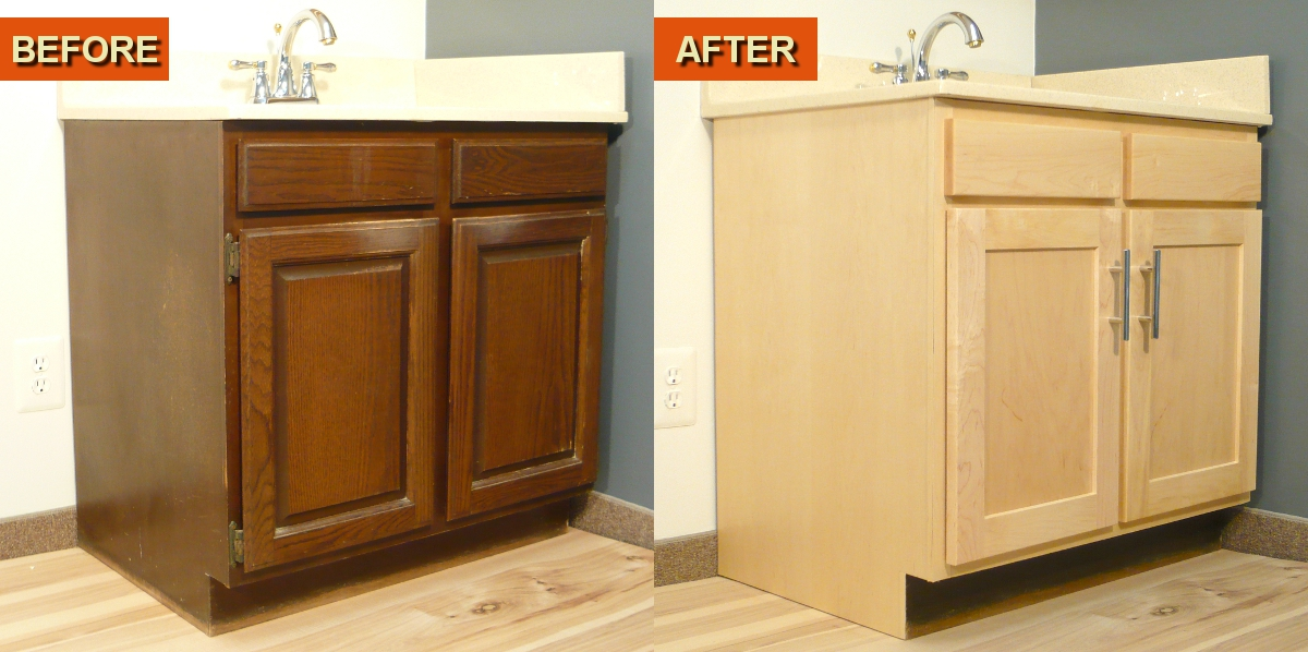 Cabinet ReFacing Kits by WiseWood Veneer a DIY Project
