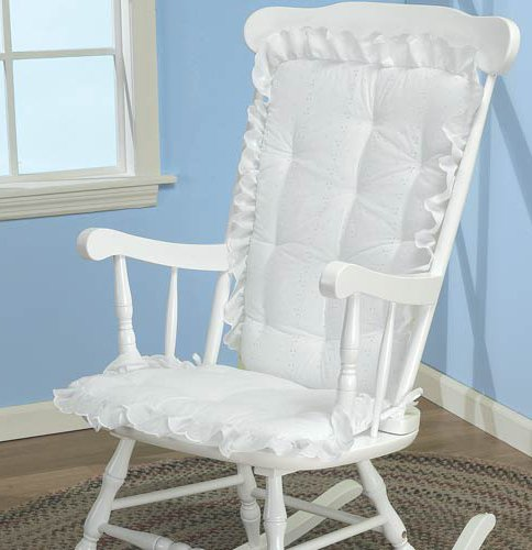 New Rocking Chair Cushions Highlighted by