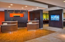 Courtyard by Marriott Lobby