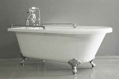 Baths Of Distinction Now Offers A New Clawfoot Tub Designed For Extra Safety And Comfort
