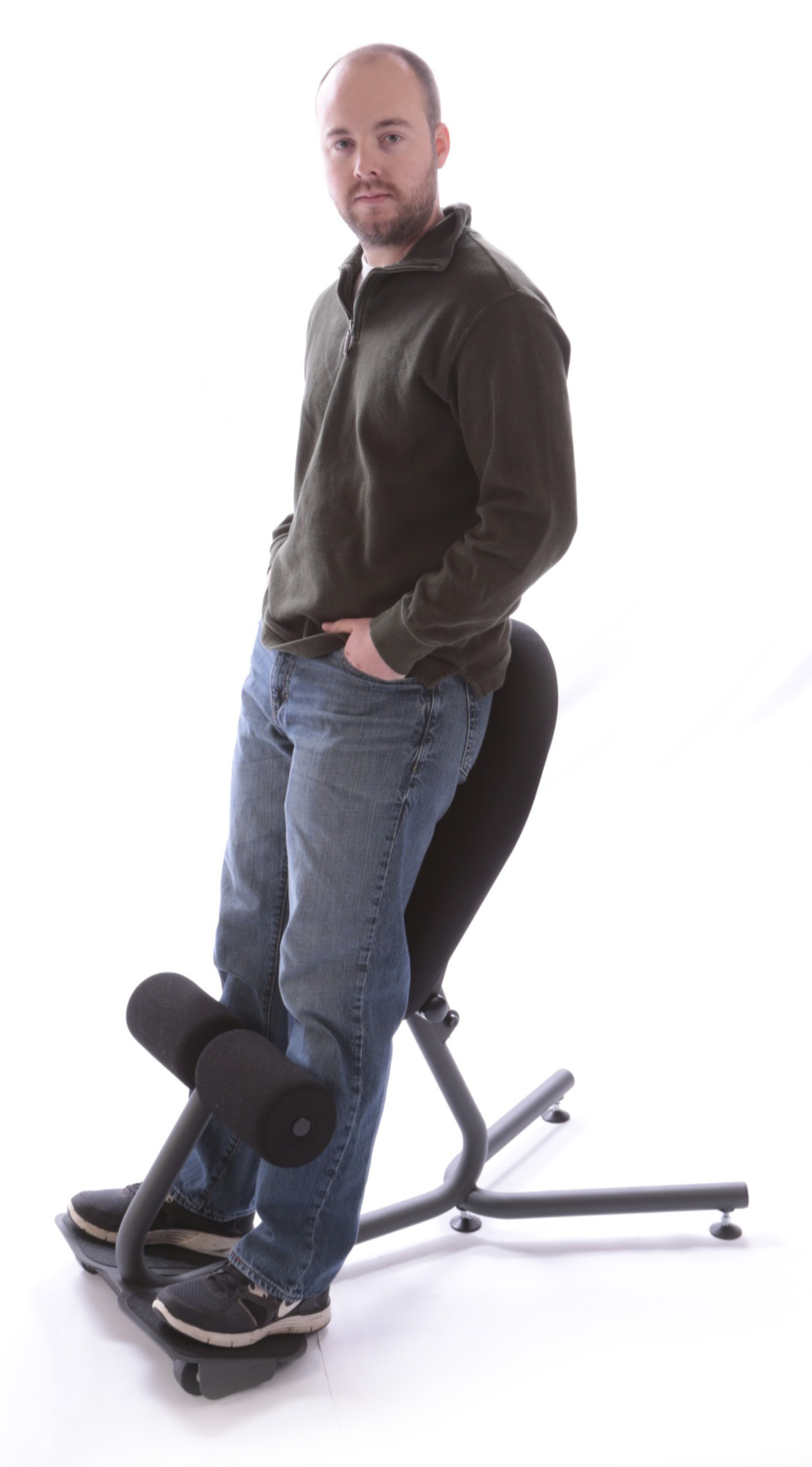 Standing Desk Chairs New Office Chair Promotes Active Movement At Work