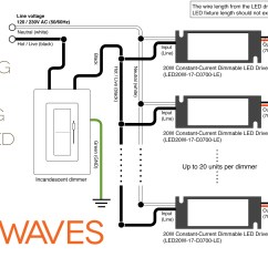 Electrical Wiring Diagrams For Recessed Lighting 1997 Ford Explorer Radio Diagram Led Waves Redesigns Dimmable Lights