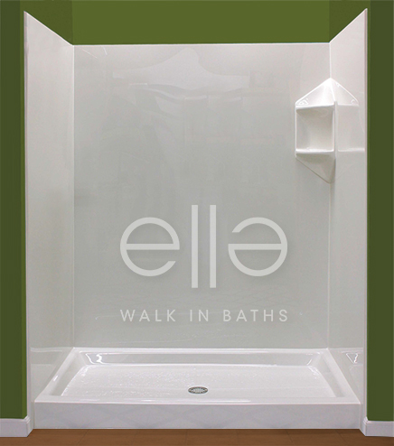 Ella Walk In Baths Introduces A New Amp Affordable Acrylic Wall Surround System For Showers Amp Walk