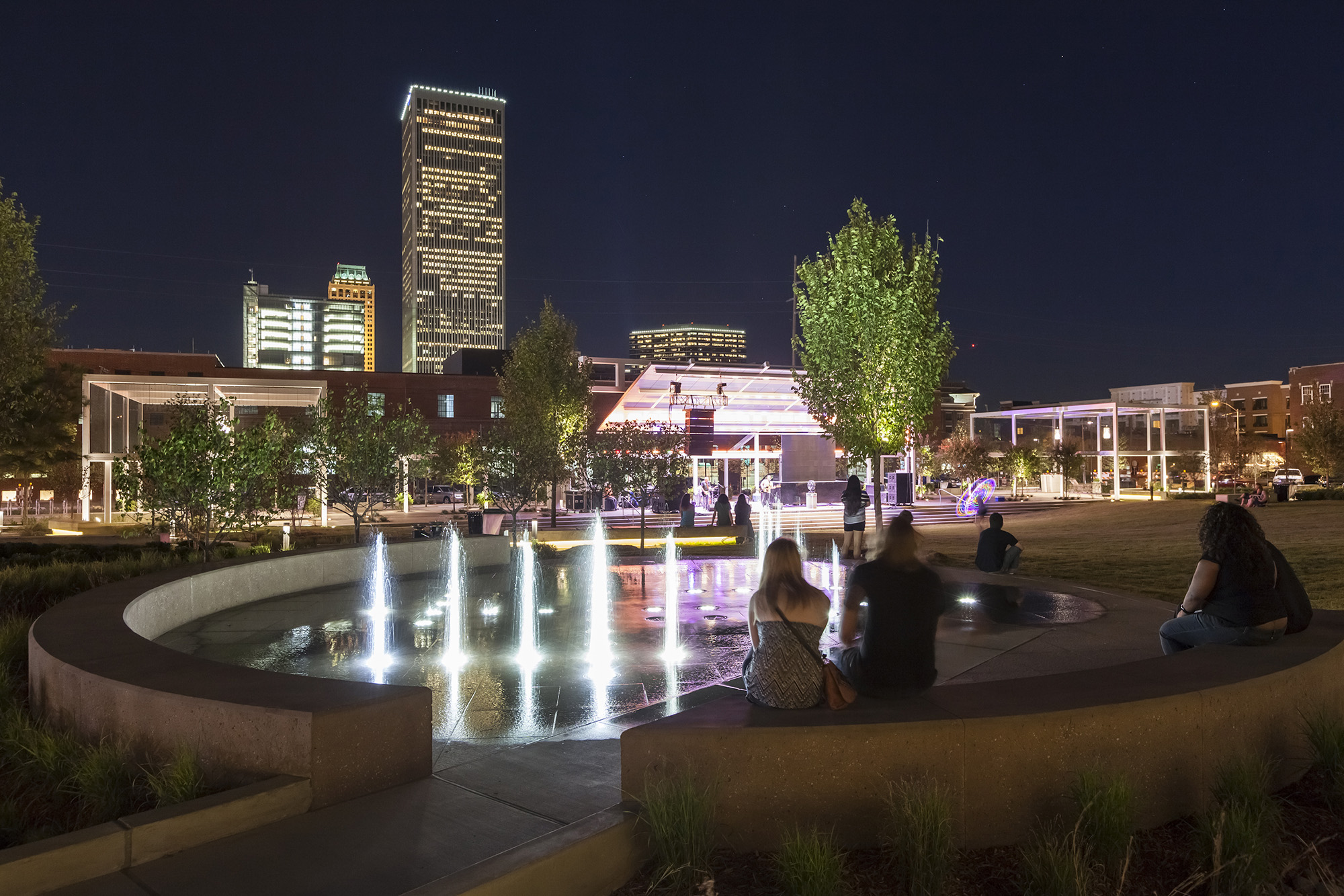 Crystal Collaborates On Water Features At New Guthrie
