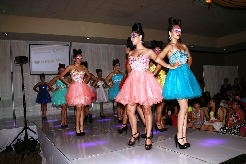 Quinceaneracom Expo and Fashion Show Connects With the