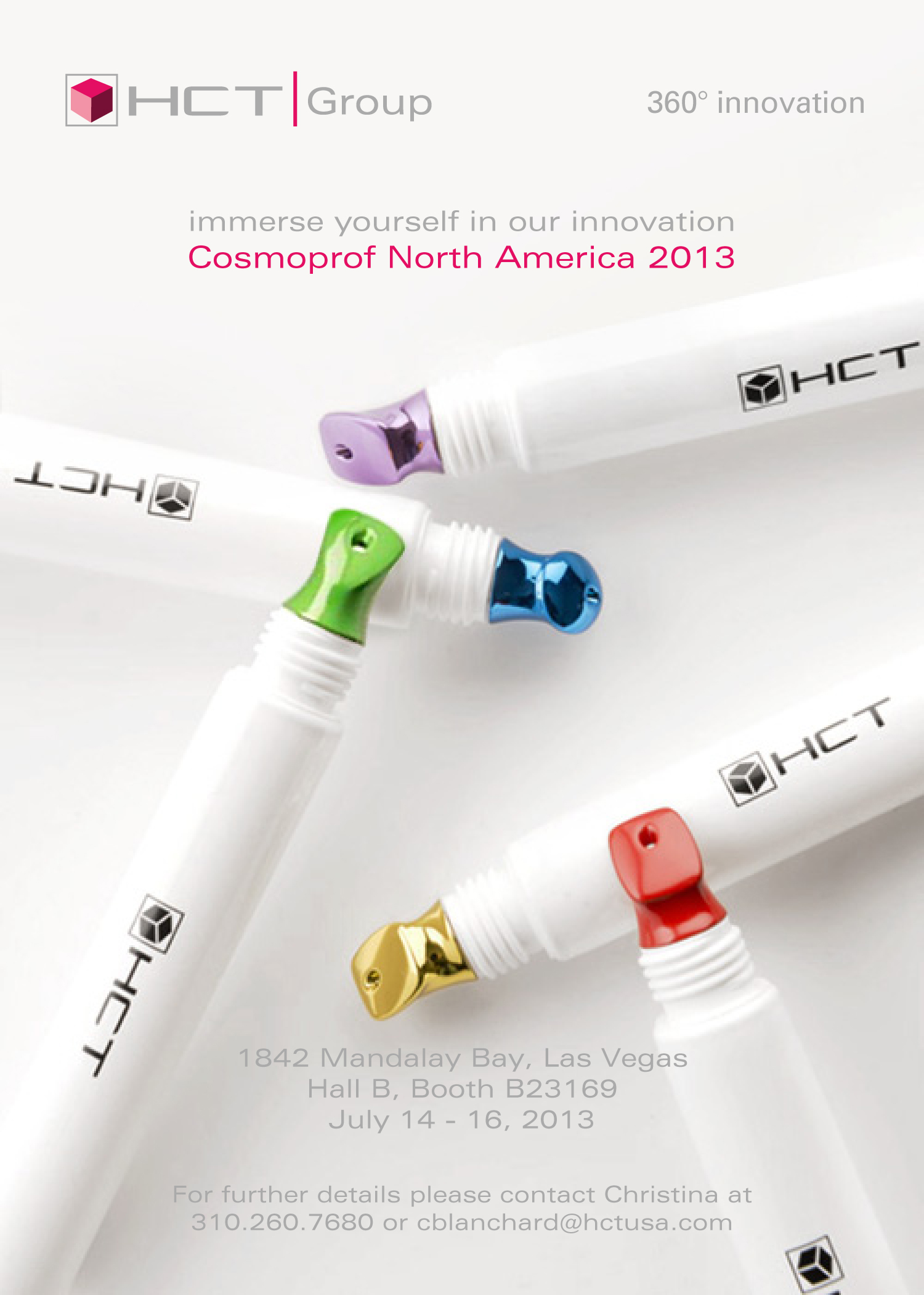 HCT Packaging Inc to Present Cutting Edge Packaging