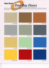Carboline Paint Color Chart