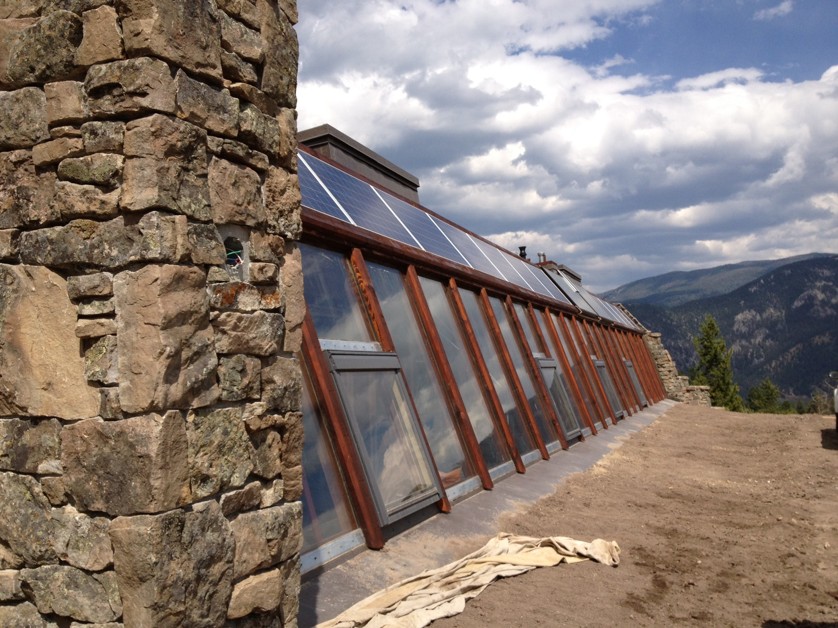 Big Sky Montanas First Earthship is Complete And Open to Tour