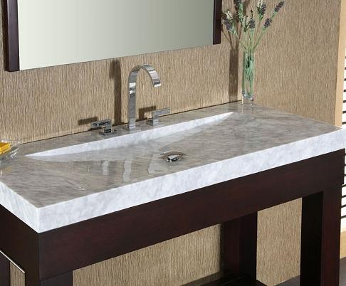 HomeThangscom Has Introduced a Guide to Integrated Stone Sinks for the Bathroom